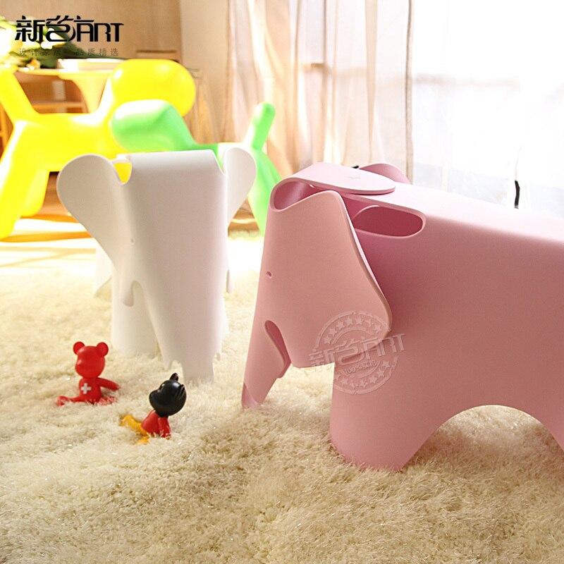 Heces de elefante infantil moda casual creativo Ikea muebles pequeña ...