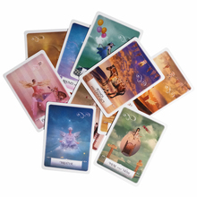 New knowledge wisdom oracle cards 52 cards/set English mysterious fortune tarot game for girls family card