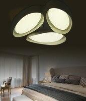 Творческий светодиодный гостиной Потолочные спальне легкой романтической теплые книги освещение комнаты Современный Простой Личность ла