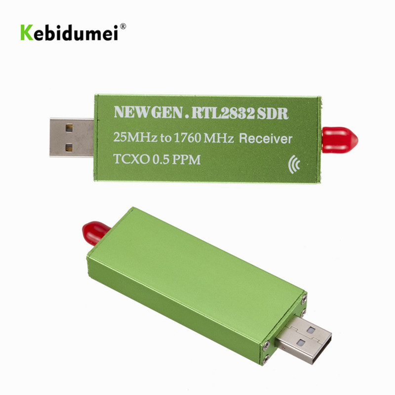 ТВ-тюнер USB2.0 RTL SDR 0,5 PPM TCXO RTL2832U R820T2, ТВ-тюнер, флешка AM FM NFM DSB LSB SW, радио, SDR, ТВ-сканер, приемник