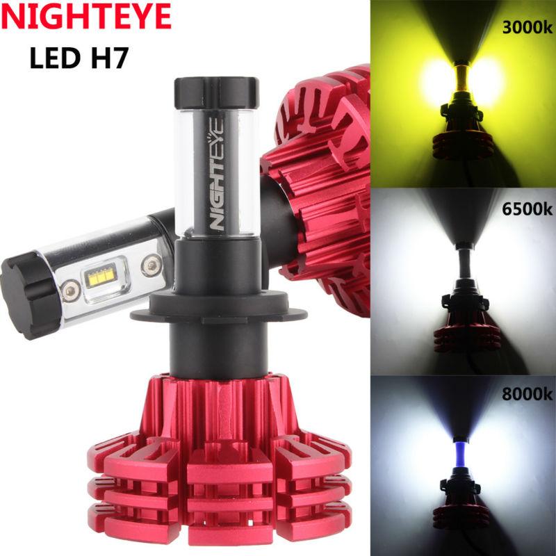Highteye H4 H7 H11 H1 H13 H3 9005 9006 9007 9012 5202 880 ZES LED Car Headlight Bulb Hi-Lo Beam 60W 10000lm 6500K Auto Headlamp 2pcs h4 h7 h11 h1 h13 h3 9004 9005 9006 9007 9012 cob led car headlight bulb hi lo beam 72w 8000lm 6500k auto headlamp 12v 24v