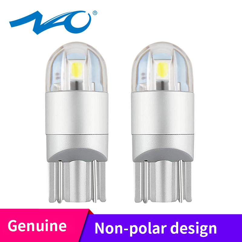 NAO Reading-Lamp Car-Accessories Led-Light W5w 3030 Turn-Signal T10 Led 3000K Yellow