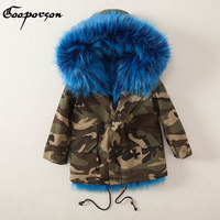 Goporson Kids Girl Winter Thick Fur Coat Long Sleeve Girl's Fur Jacket For Children Snowwear Fashion Style Girls Boys Coats Fur