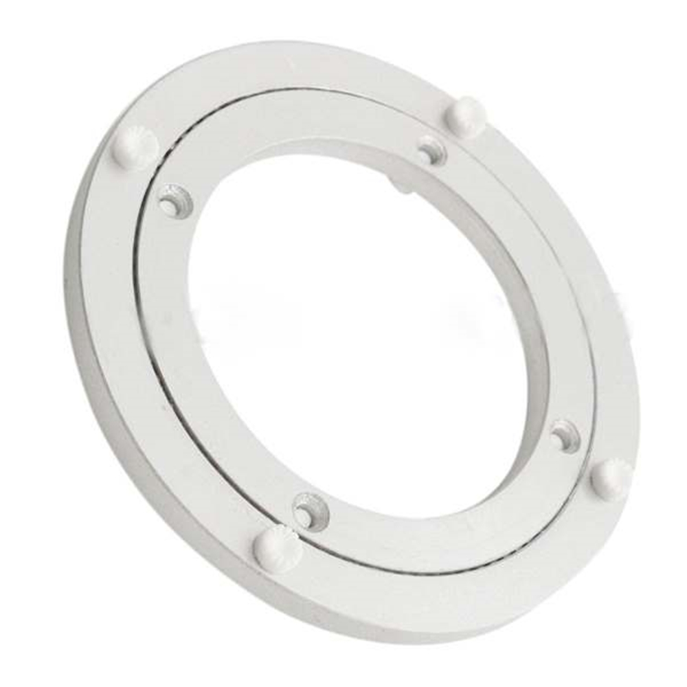 Solid 7 Sizes Aluminium Rotating Turntable Bearing Swivel Plate For Cake Decor TV Monitor Stand Electronic Repair Sculpture Base hq ss10 cake making and decorating turntable baking tool rotating table of cake show display stand