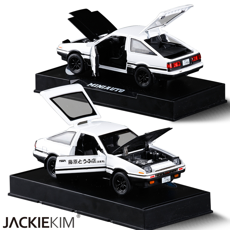 Fast And Furious News And Political Cartoons: New INITIAL D Toyota AE86 1:28 Alloy Car Model Anime