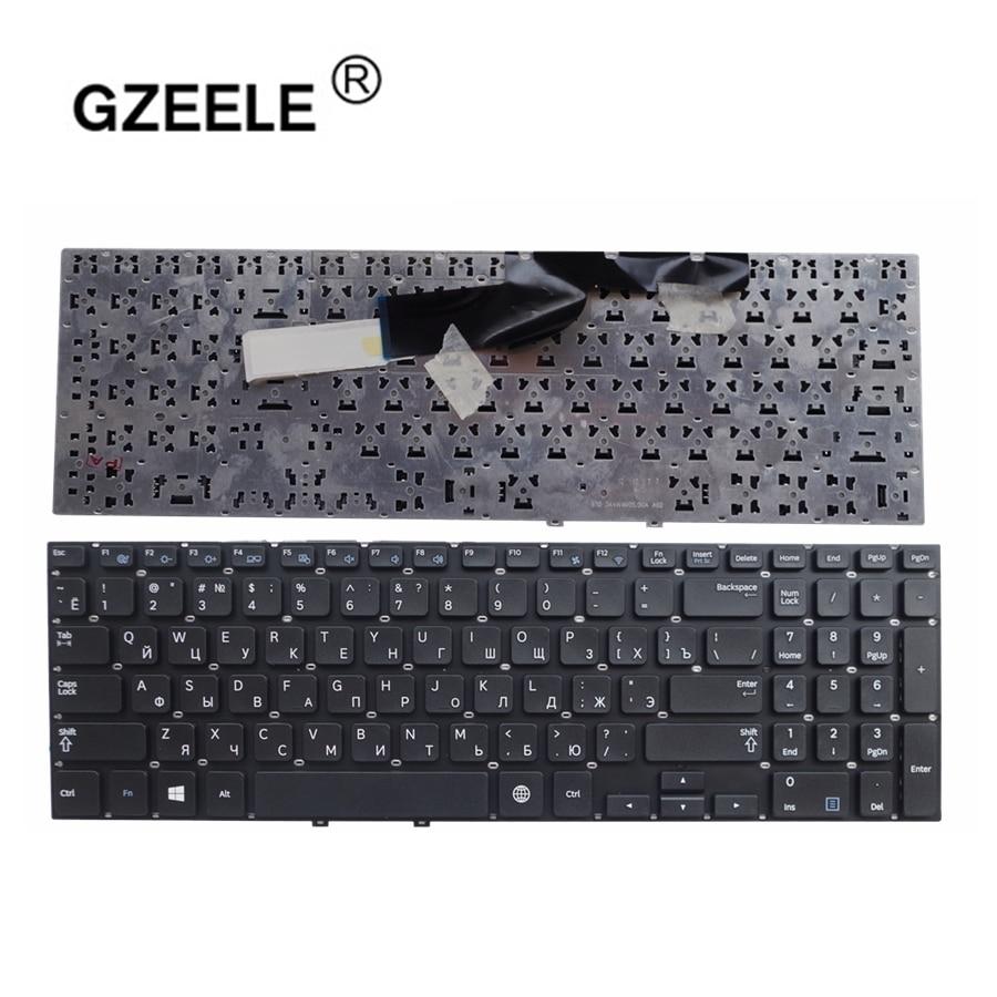 GZEELE Russian Keyboard For Samsung 300e5v 300e5e 350e5c NP300e5v NP300E5E NP350E5C NP350E5C 350E5C 355E5 Black RU New