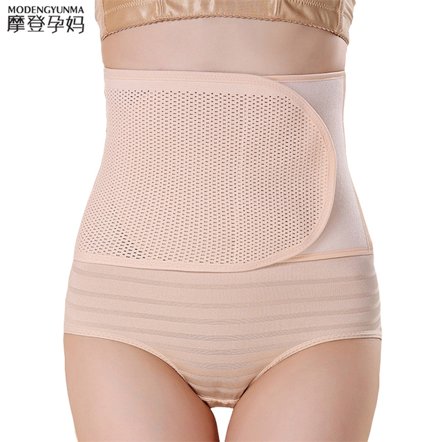 postpartum bandage 2019 Waist Polyester Postpartum Abdominal Belt Maternity Bandage Band Pregnant Women Control Slimming Belt