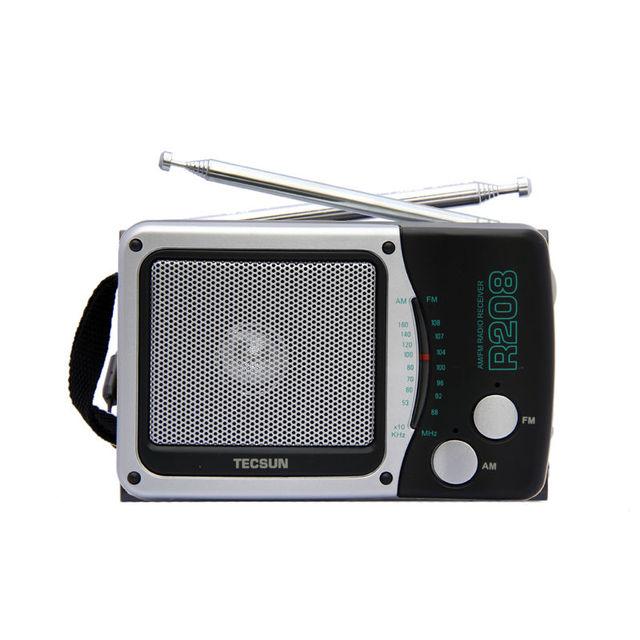 TECSUN R-208 Pequeña de Escritorio tamaño FM/AM Receptor de Radio