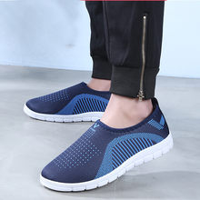 MUQGEW Shoes Men Sneaker 2019 Fashion Mesh Thin Light Slip-On Sport Shoes Comfy Footwears Loafers Casual Shoes zapatillas hombre(China)