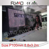 P10 beautiful led stage cloth with full sex video