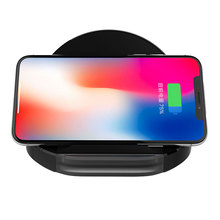 YWEWBJH 10W Qi Wireless Charger for iPhone 8 Plus XR Fast wireless charger for Galaxy S6 S9 S8 Note 9 charging pad