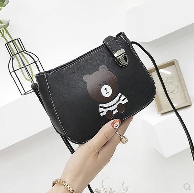 Hot Crossbody Bags For Women Casual Mini Candy Color Messenger Bag For Girls Flap Pu Leather Shoulder Bag 2018 rdywbu candy color rivet chain shoulder bag women new pearl pu leather flap handbag girls fashion crossbody messenger bag b430