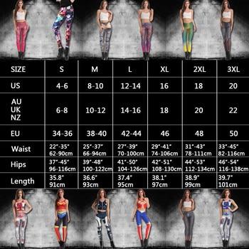 NADANBAO Brand New BARBARIAN Skull Women Leggings Printed Leggins  Woman Pants 6