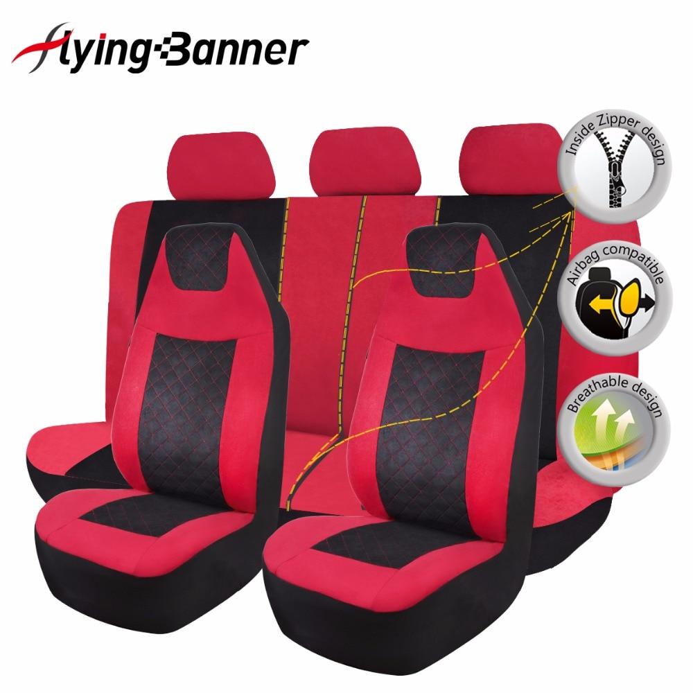 Tela de terciopelo moteado cubierta de asiento de coche Universal - Accesorios de interior de coche - foto 3