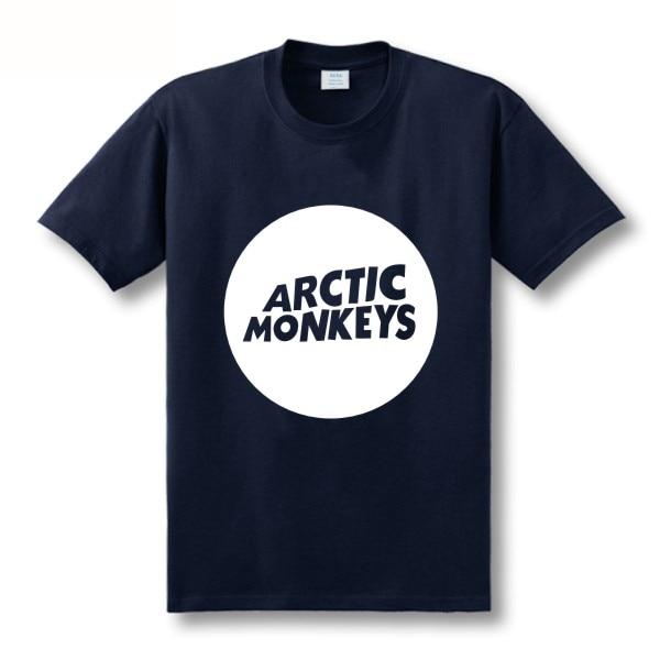 Zweite Tötung Arktische Affen Druckt-shirt Männer Kurzhülse 100% - Herrenbekleidung - Foto 3