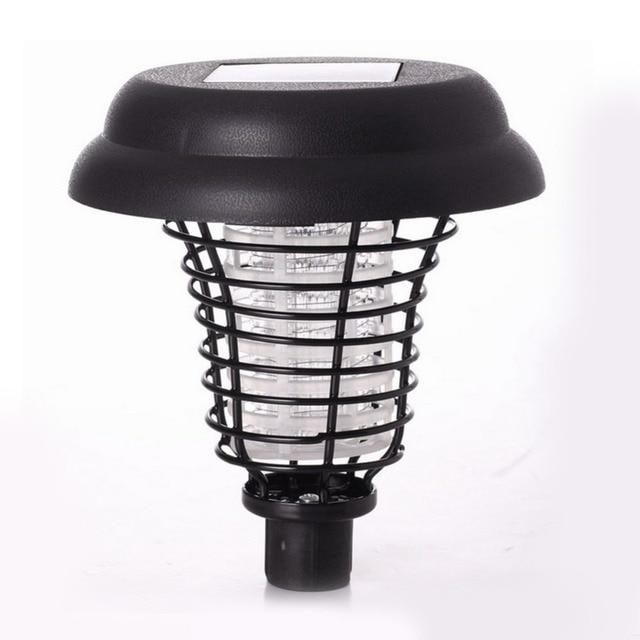 5 pieces. LED Solar Outdoor Lawn Lawn Anti Mosquito Insect Pest Zapper Assassin Capture Lanterns Lamp Burst Light Garden Deco