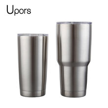 UPORS Tumbler 20 30 OZ Travel Mug Stainless Steel Double Wall Vacuum Coffee Cup Outdoor Ice Drink Beer Water Tea Coffee Mugs(China)