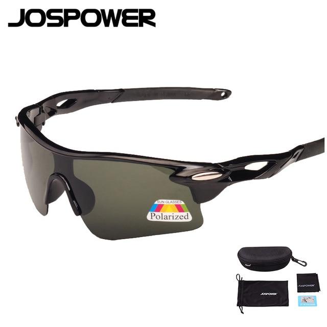88b4fb39ecf86 JOSPOWER UV400 Polarized Ciclismo Óculos Óculos de Bicicleta Equitação  Óculos Profissionais Óculos de Proteção Da Bicicleta