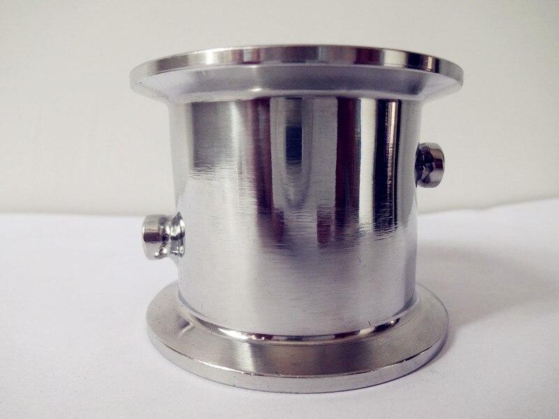 2 (51mm) OD64 Tri Clover Tubo Spool Con Termo Maniche, Porte Diametro 4.2mm E 6.2mm (Entrambi I Lati) Acciaio Steel304, Lunghezza 50mm2 (51mm) OD64 Tri Clover Tubo Spool Con Termo Maniche, Porte Diametro 4.2mm E 6.2mm (Entrambi I Lati) Acciaio Steel304, Lunghezza 50mm
