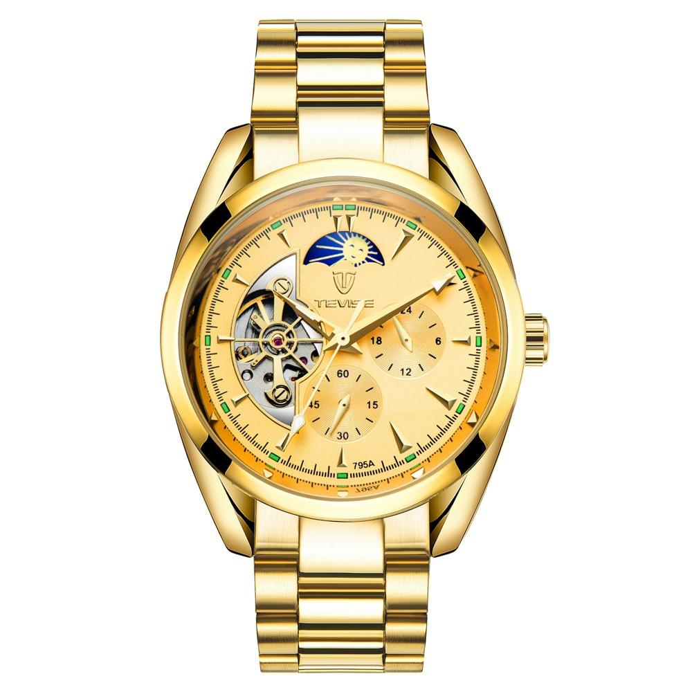 Männlichen Uhren Business Automatische 17