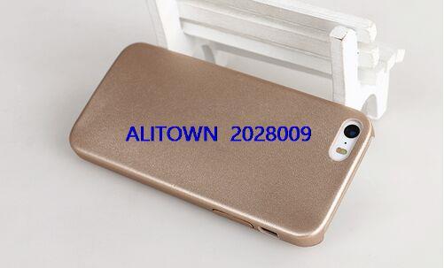 100pcs lot Ultra thin Slim TPU Leather Case for font b iphone b font 5s Luxury