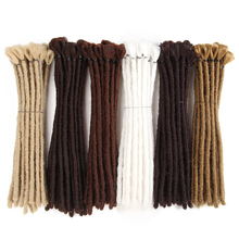 SAMBRAID 12Inch Short Dreads Handmade Dreadlocks Extension Black Dread