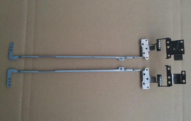 New laptop lcd dobradiças kit para asus k43 x43 a43 k43s a43s dobradiças esquerda + direita