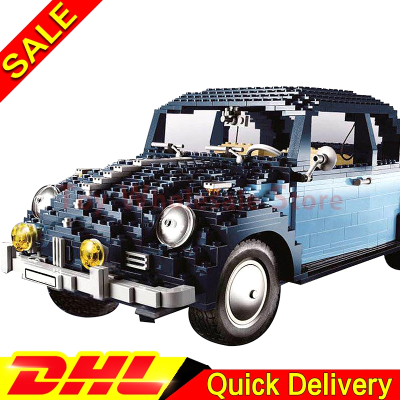 Lepin 21014 1707Pcs Technic Classic Kits The Ultimate Beetle children Educational Building Blocks Bricks Toys Model Clone 10187 lepin 21003 series city car beetle model building blocks blue technic children lepins toys gift clone 10252