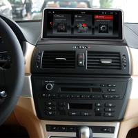 Auto Multimedia Player for BMW X3 E83 2004 to 2010 10.25 Android 8.1 PX6 Vehicle GPS Navigation and Idrive Car Navigator