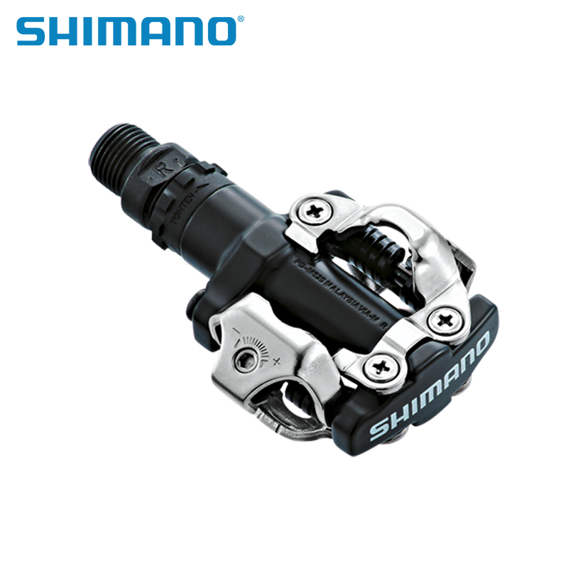 Shimano Cycling MTB Mountain Bike Bike Parts Chrome-moly & Aluminium Självlåsande Clipless PD-M520 M520 Pedals SPD Cleats
