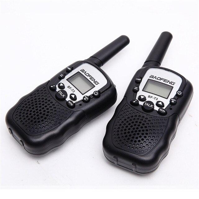 BF T3 لاسلكي تخاطب 2 قطعة مجموعة Baofeng T388 PMR GMRS صغيرة يده لاسلكي تخاطب الأطفال اللاسلكية راديو السفر المدني