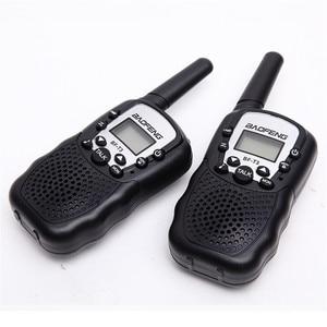 Image 1 - BF T3 для переносного приемо передатчика комплект из 2 частей Baofeng T388 PMR GMRS мини ручной для переносного приемо передатчика детей Беспроводной радио гражданского дорожная сумка