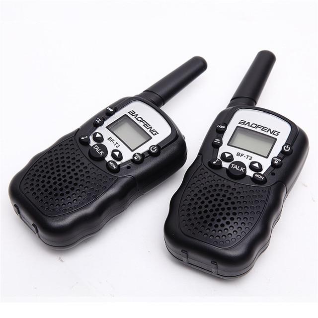 BF T3 Walkie talkie 2 Delige Set Baofeng T388 PMR GMRS Mini Handheld Walkie talkie Kinderen Draadloze Radio Civiele reizen