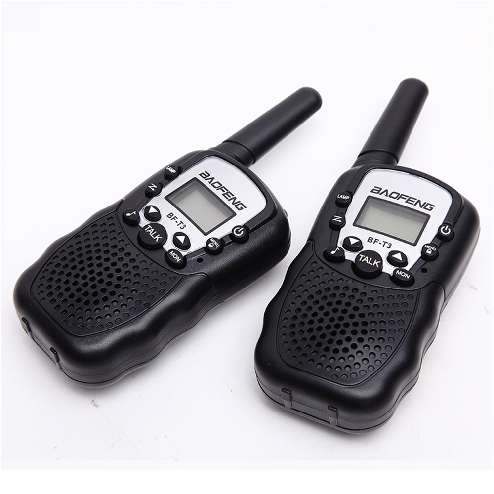 BF T3 Walkie talkie 2 Piece Set Baofeng T388 PMR GMRS Mini Handheld Walkie talkie Children Wireless Radio Civil Travel-in Walkie Talkie from Cellphones & Telecommunications