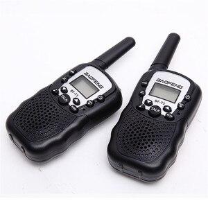 Image 1 - BF T3 Walkie talkie 2 Stück Set Baofeng T388 PMR GMRS Mini Handheld Walkie talkie Kinder Wireless Radio Bürger reise