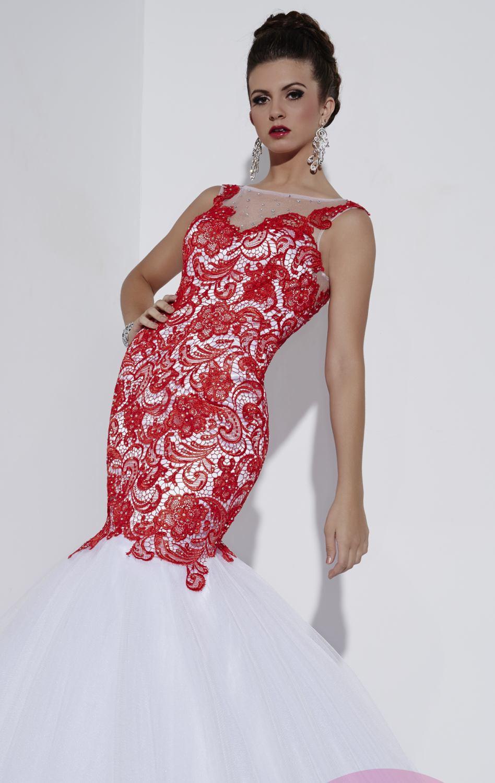 Atractivo Vestidos De Fiesta Roja Ornamento - Colección de Vestidos ...