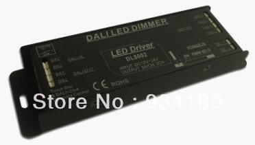 Free shipping DALI controller & led driver W/ TOUCH DIM control 2 Channels  DC12-24V Constant Voltage Single Output 1x high quality 90 108w 2 chanel 2 4g cct adjustable constant voltage led driver 2 4g led remote controller free shipping