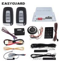 EASYGUARD компания ПКЕ сигнализация для Автомобильный стартёр дистанционного включения центральный замок с дистанционным управлением системы