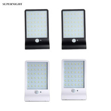LED Solar Light PIR Motion Sensor Light Control 36 LED Wall Lamp Waterproof Wall Mounted Solar Lamp for Garden Yard Street Path