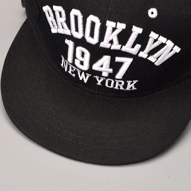 1947 eventos Brooklyn estilo gorra de béisbol deporte sombrero Gorras  Planas Snapback Nueva York Hip Hop sombreros Snapbacks Casquette tapa en  Gorras de ... c9840596da4