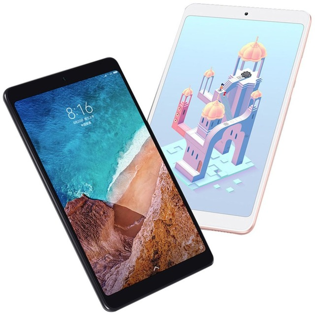 Global version Multi-language Xiaomi Mi Pad 4 Plus 128GB Tablets 4 Snapdragon 660 AIE 8620mAh 10.1'' 16:10 1920x1200 Screen 13MP
