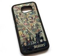 Avengers Skrzynki Pokrywa, Case Do Samsung Galaxy S5 S6 S7 S6edge S7edge #11950
