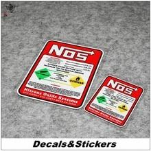 Светоотражающие модифицированные наклейки № L095 с оксидом азота, предупреждение 3 м, водонепроницаемые наклейки на автомобильное стекло, го...