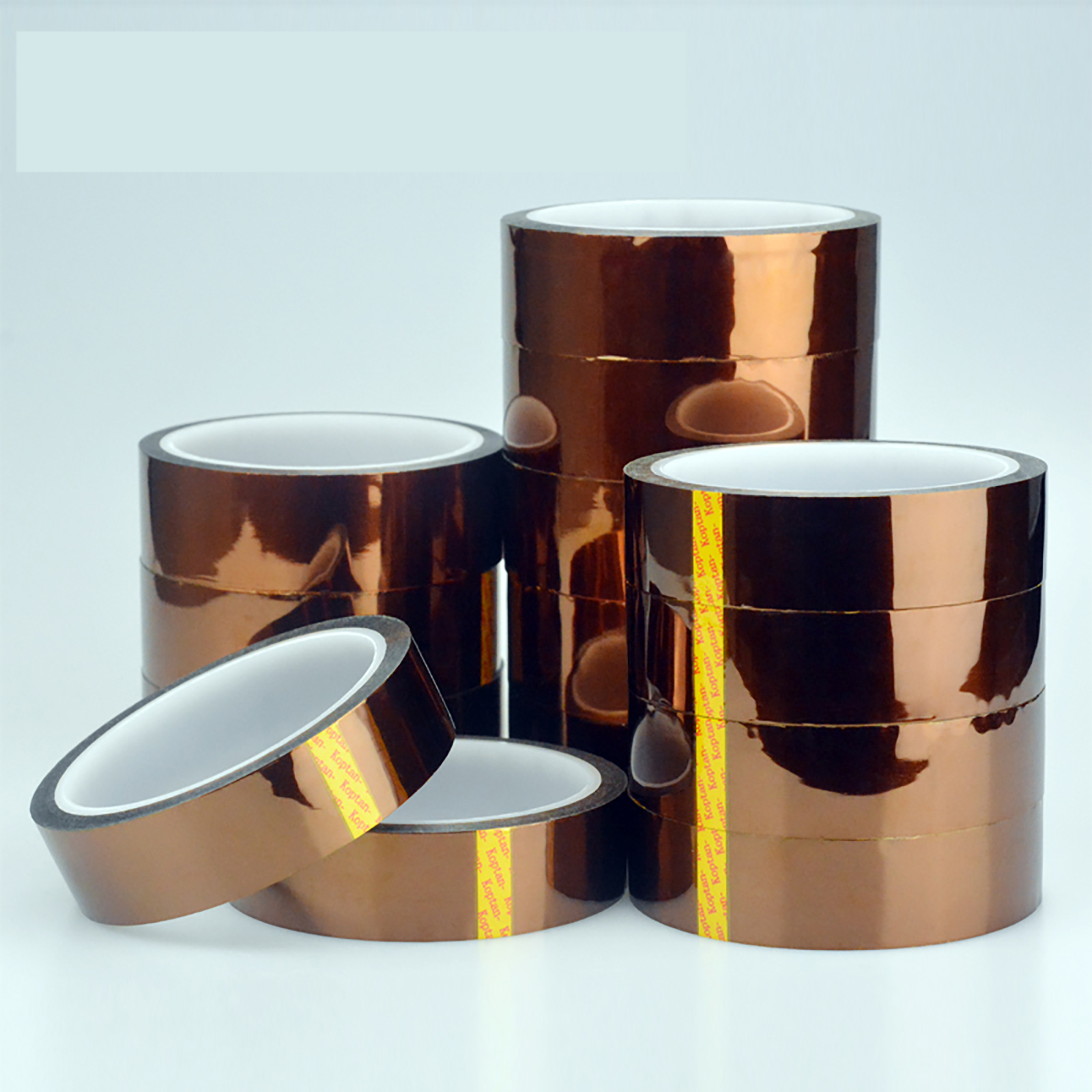 33M/Roll Kapton Tape Adhesive High Temperature Heat Resistant Polyimide 0.055mm Thickness 300℃
