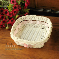 Value Home Essential Practical New Material Woven Storage Baskets Small Debris Basket Fruit Basket