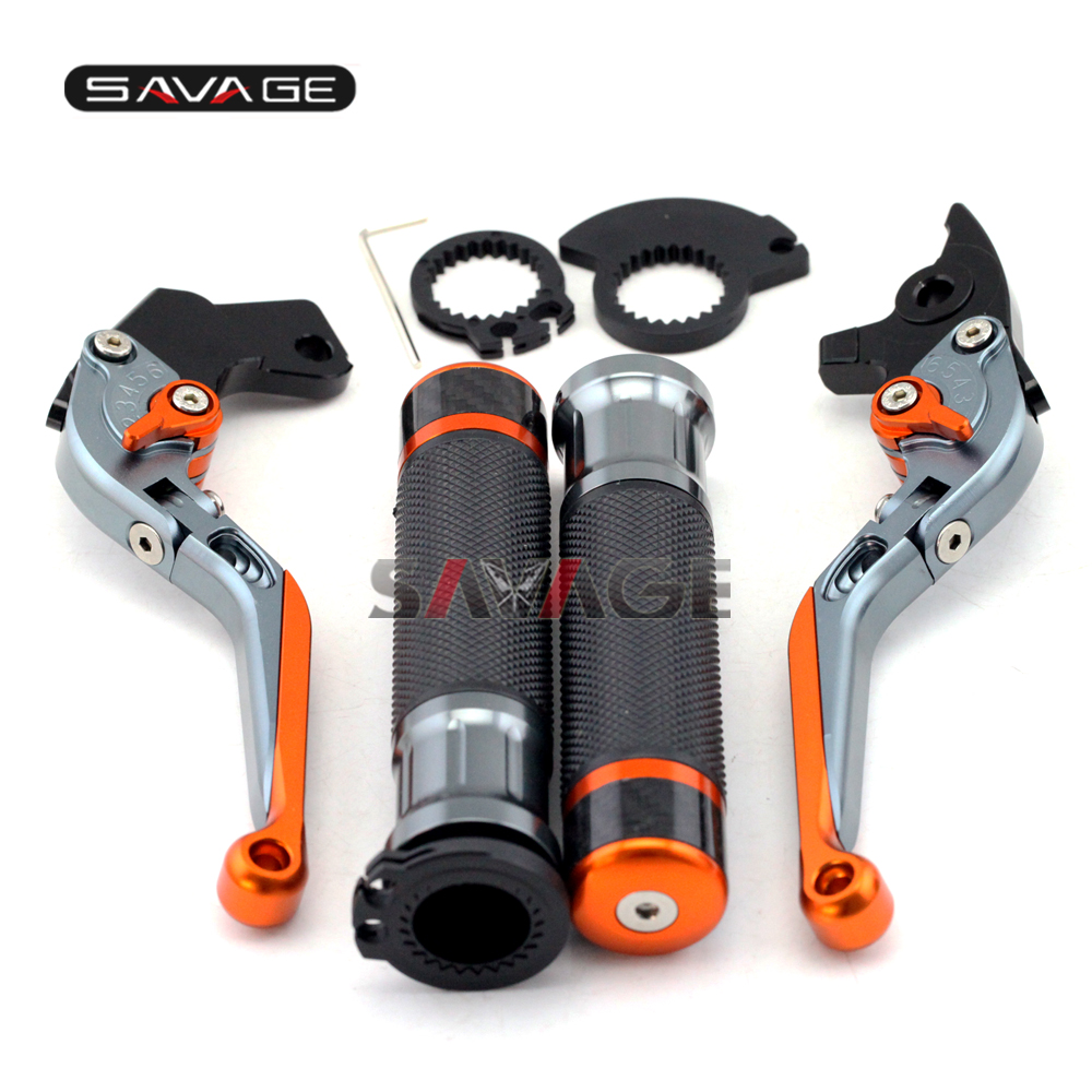 FOR KAWASAKI CBR 600RR/CBR 1000RR Motorcycle Folding Brake Clutch Levers Hand Grips Handlebar Motorbike Accessories cbr