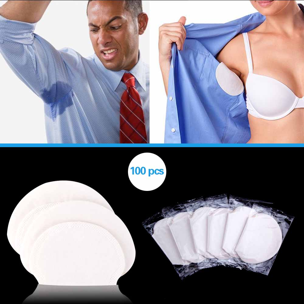 100/200/300/400pcs Summer  Disposable Armpit Dress Sweat Pads Underarm Absorbing Anti Perspiration Patch Deodorants Stickers100/200/300/400pcs Summer  Disposable Armpit Dress Sweat Pads Underarm Absorbing Anti Perspiration Patch Deodorants Stickers
