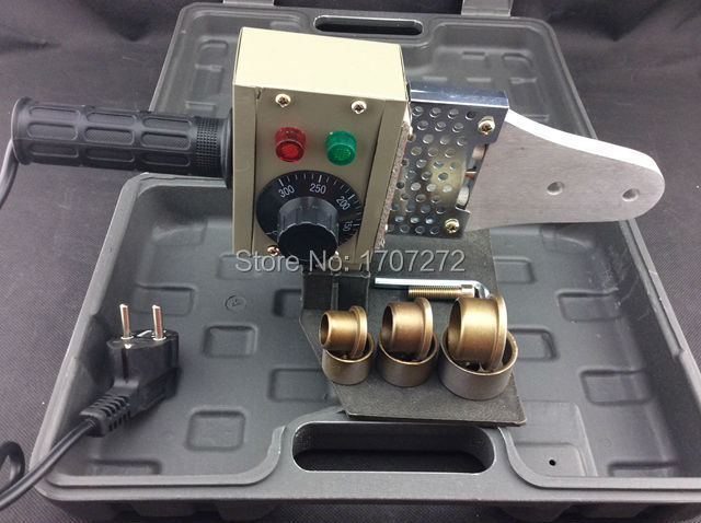 Temperatuuri abil juhitav plastkeevitusmasin AC 220V 600W 20-32mm - Keevitusseadmed - Foto 2