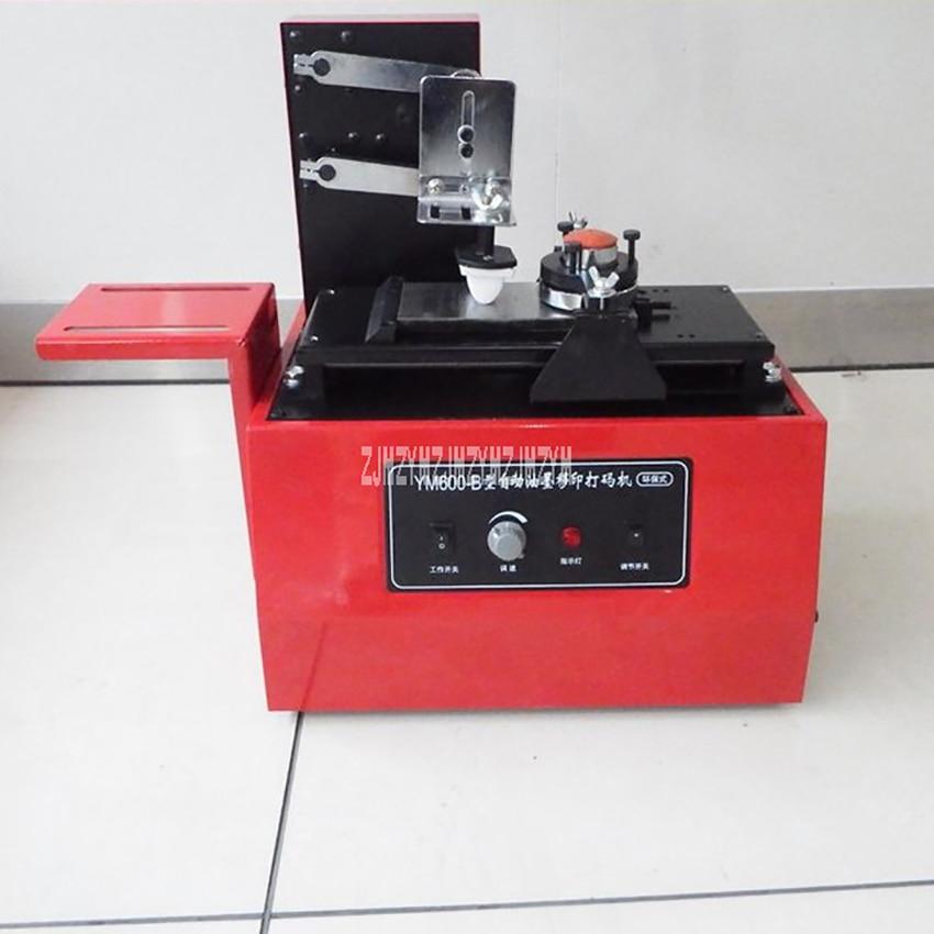 YM-600B Electric Pad Printer Environmental Protection Type Ink Printer Pad Printing Machine For Printing Date Of Manufacture