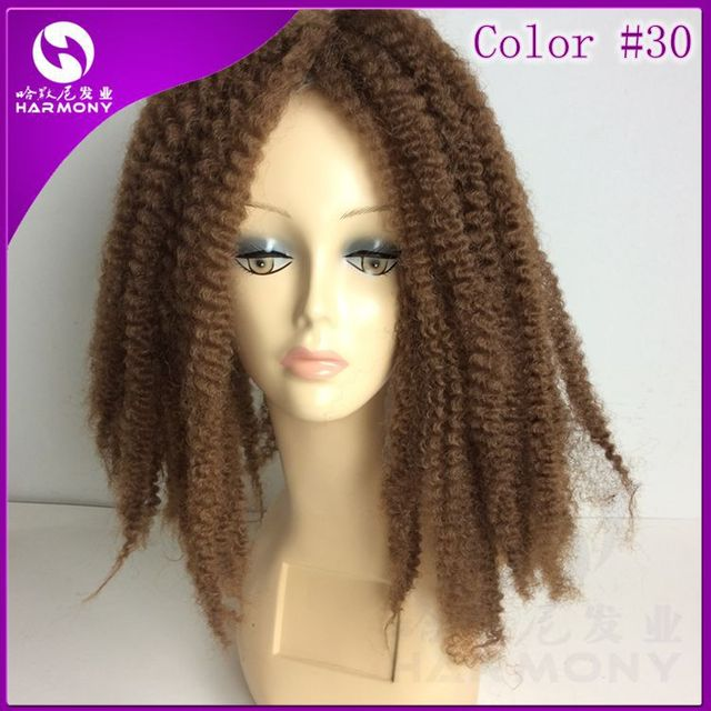 5 Packs 50cm Color 30 Free Shipping Stock Synthetic Crochet Marley Twist Hair
